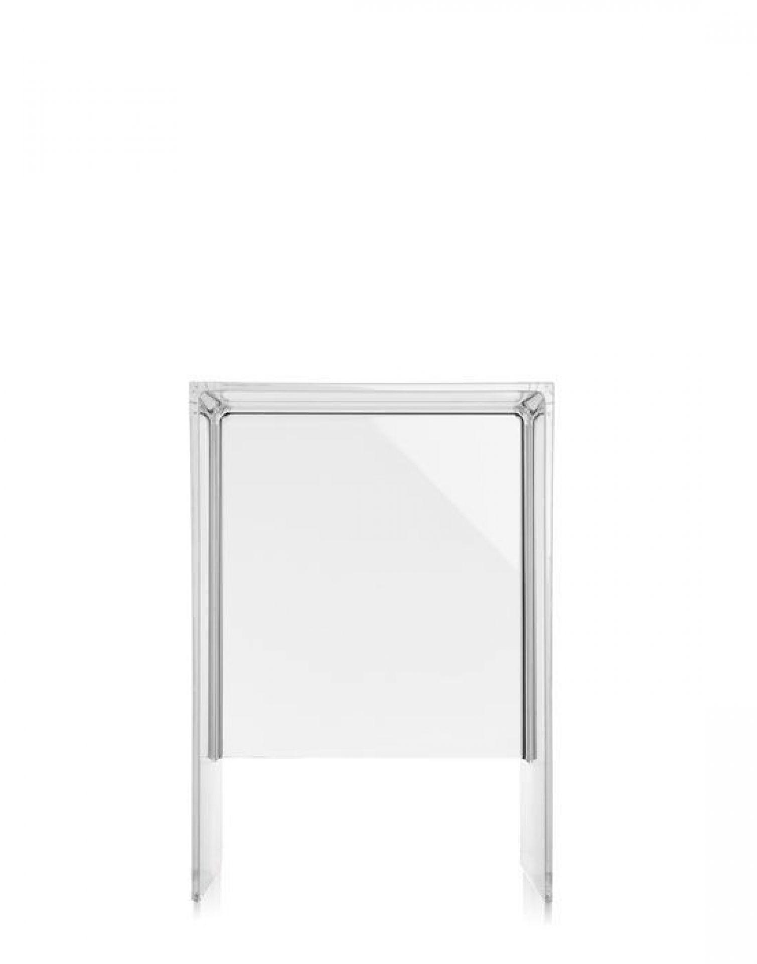 Max-Beam Hocker/Beistelltisch glasklar Kartell