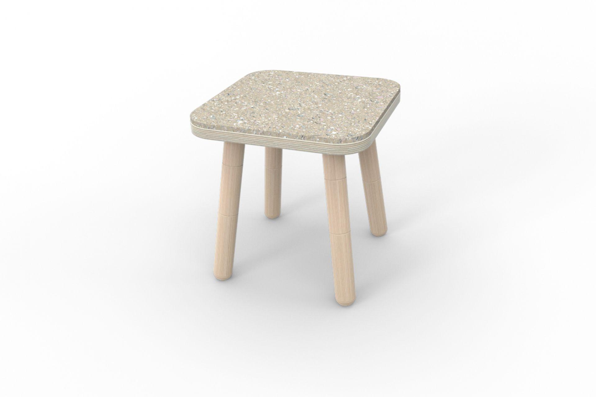 Growing Table Sitzfilz für Hocker Pure Position