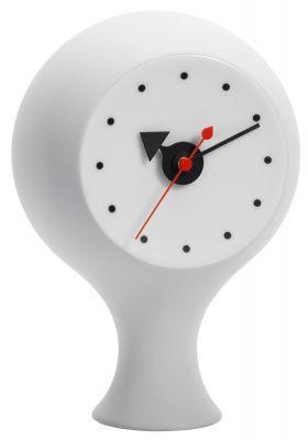 Desk Ceramic Clock Tischuhr Vitra-hellgrau/blau