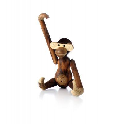 Affe Holzfigur Teak klein Kay Bojesen