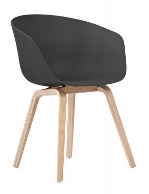 About A Chair AAC22 / AAC 22 Stuhl SCHWARZ / EICHE MATT LACKIERT Hay EINZELSTÜCK
