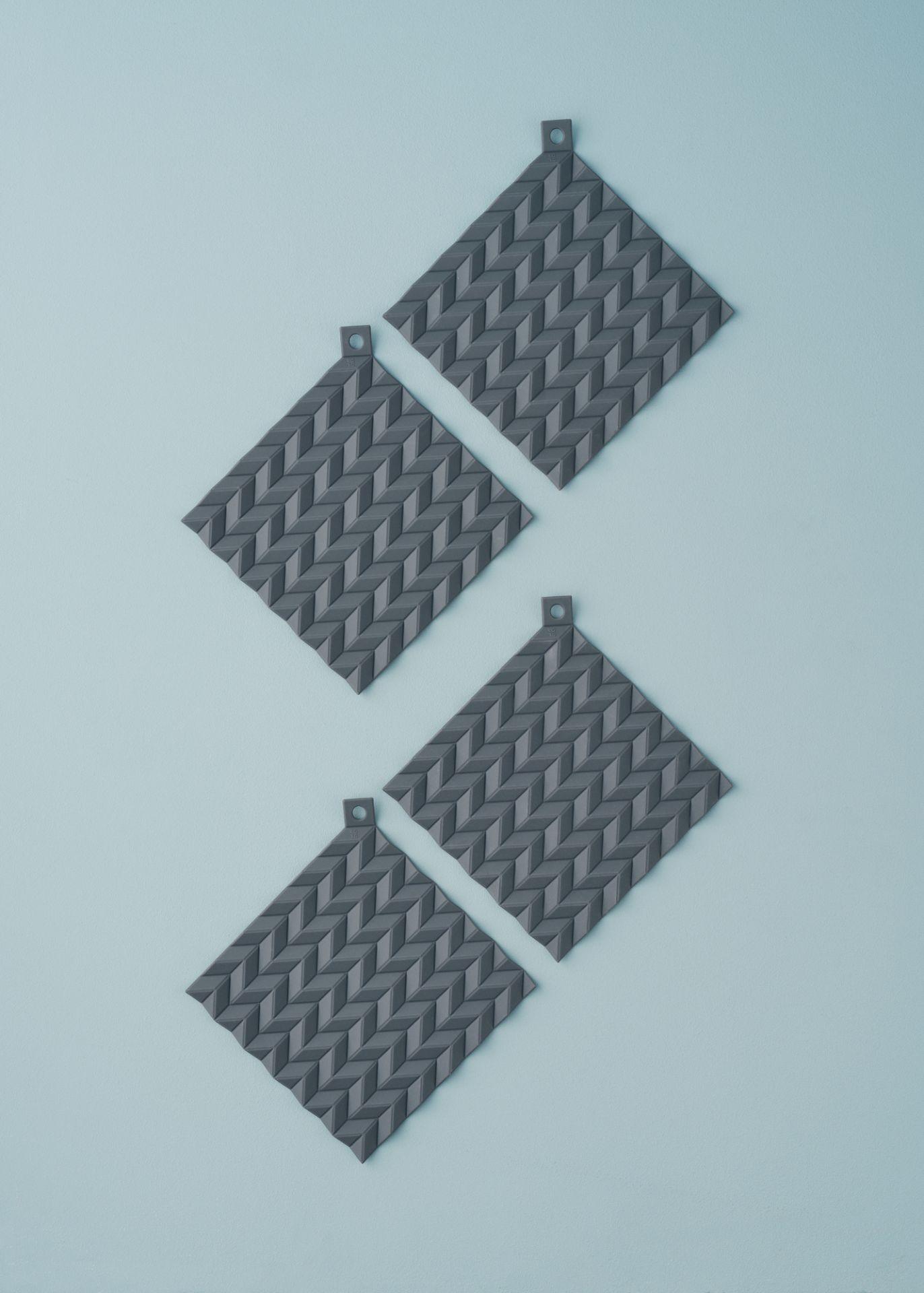 Hold-On Topflappen grau Stelton