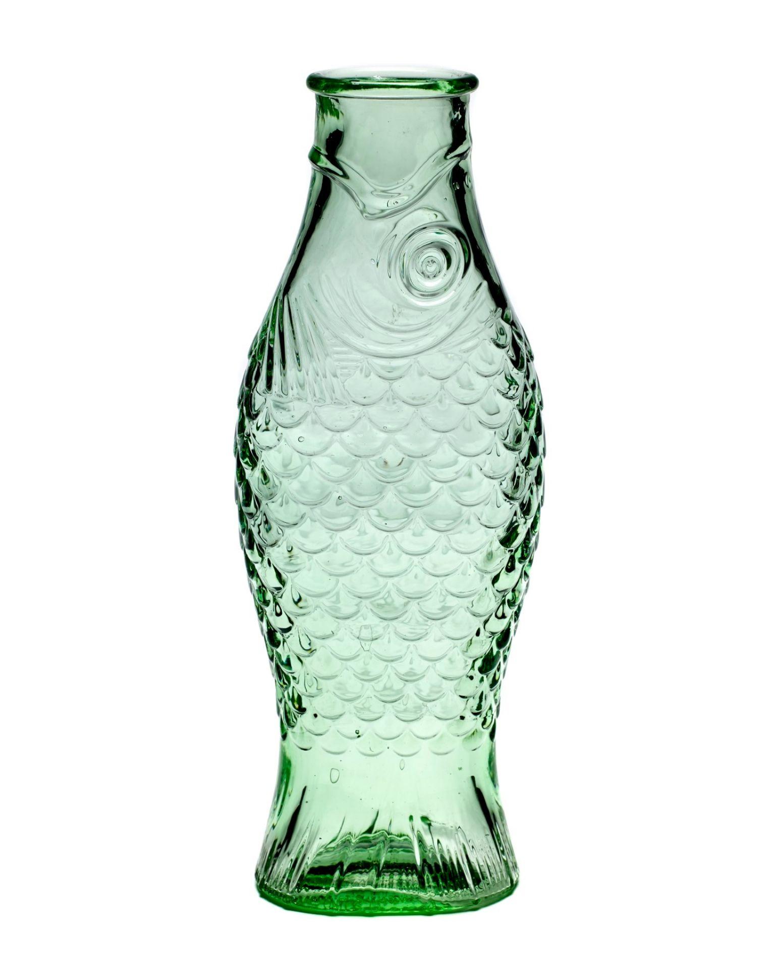 Fles Flasche Fisch Serax