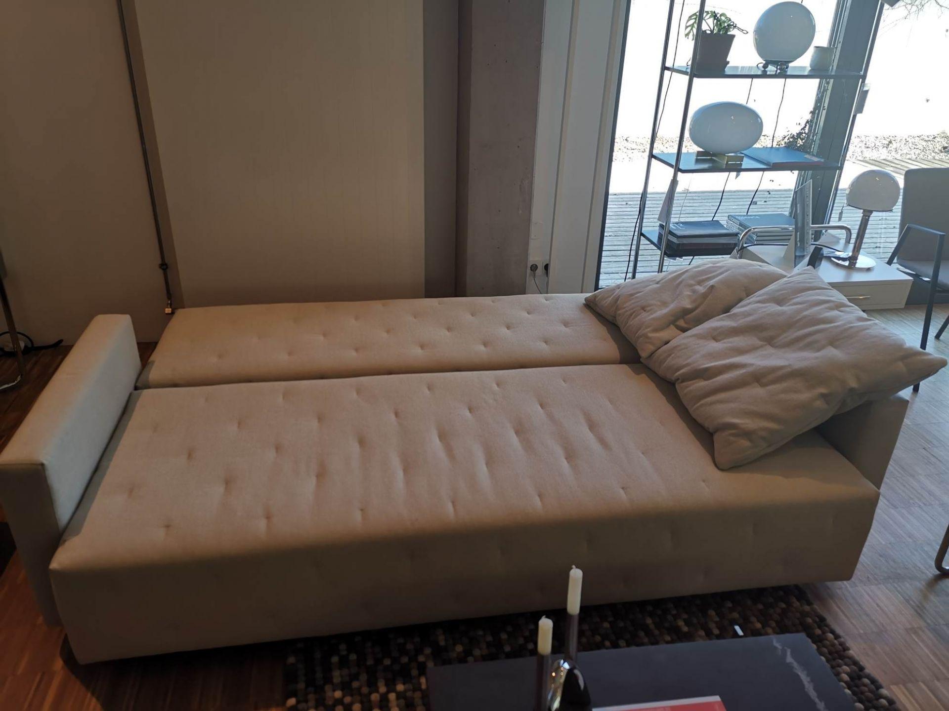 Nap Sofa / Schlafsofa 221 grau 140x200 Sancal AUSSTELLUNGSSTÜCK