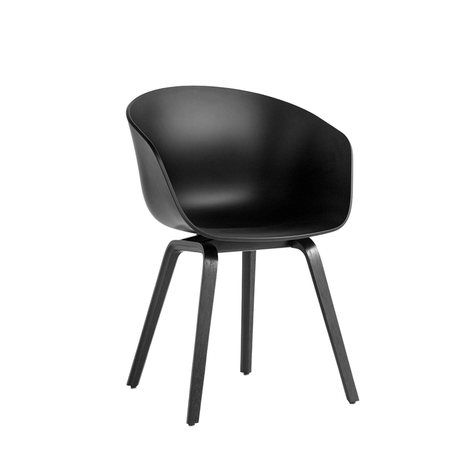 About A Chair AAC22 / AAC 22 Schwarz Stuhl Hay EINZELSTÜCK