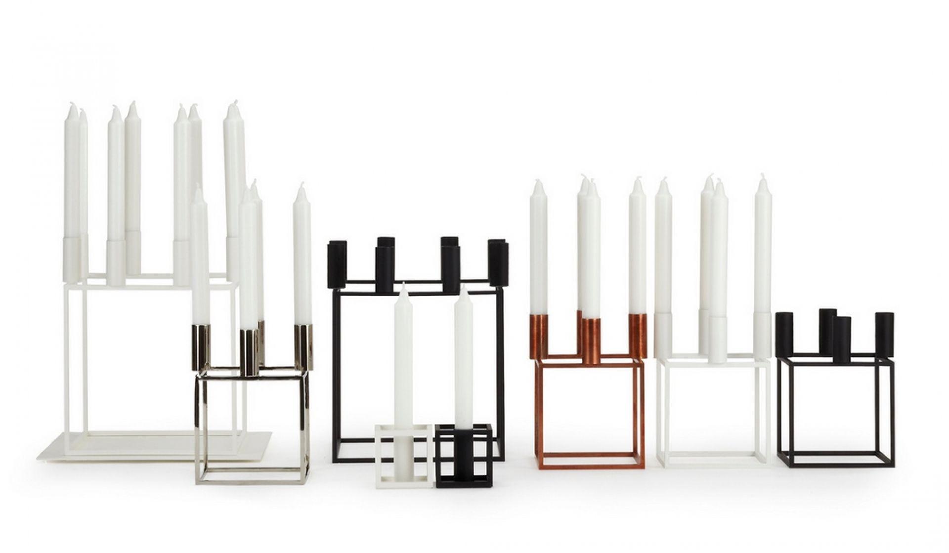Kubus 8 Kerzenständer by Lassen