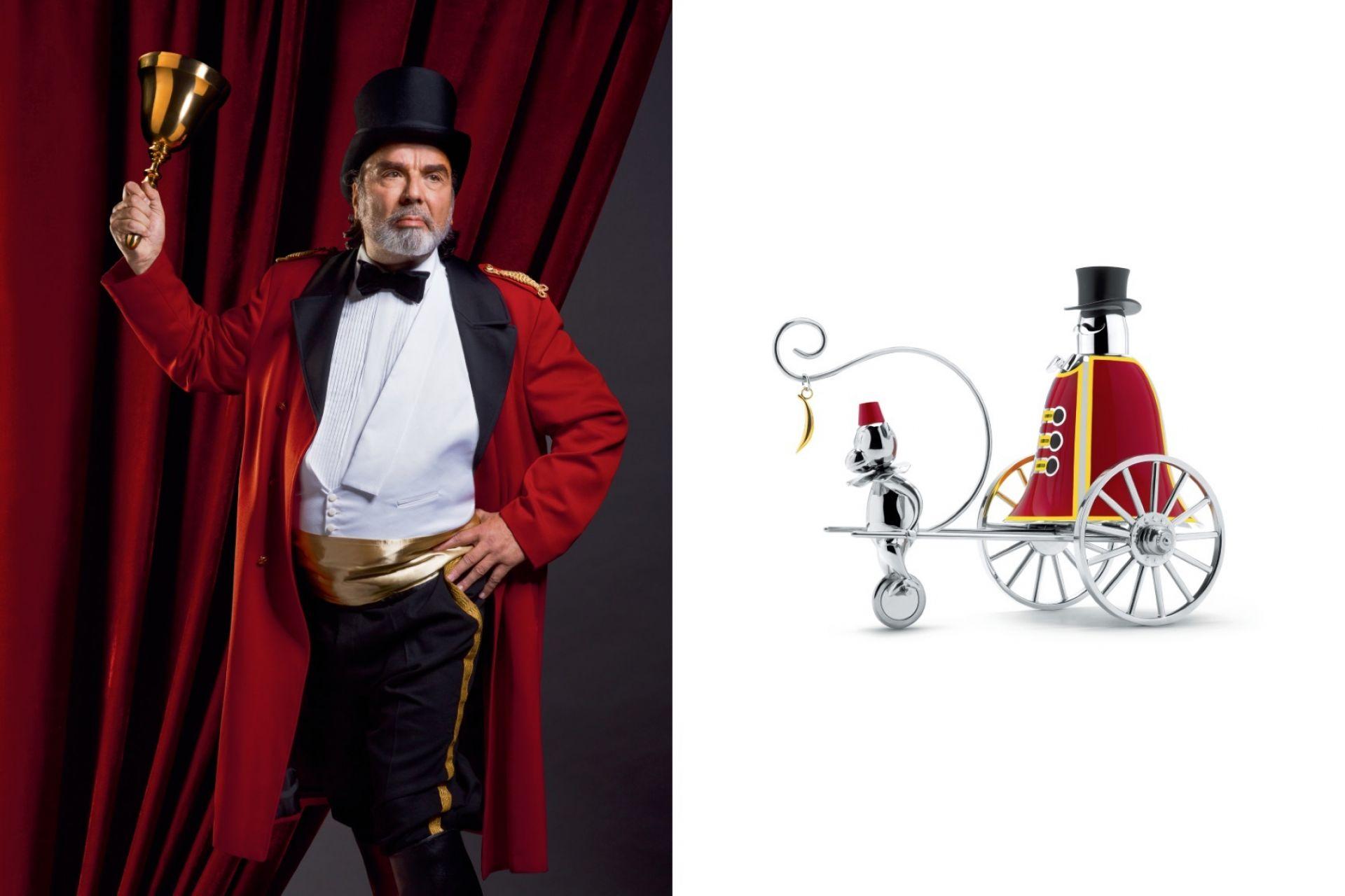Alessi Circus The Ringleader Tischglocke Alessi LIMITIERTE EDITION