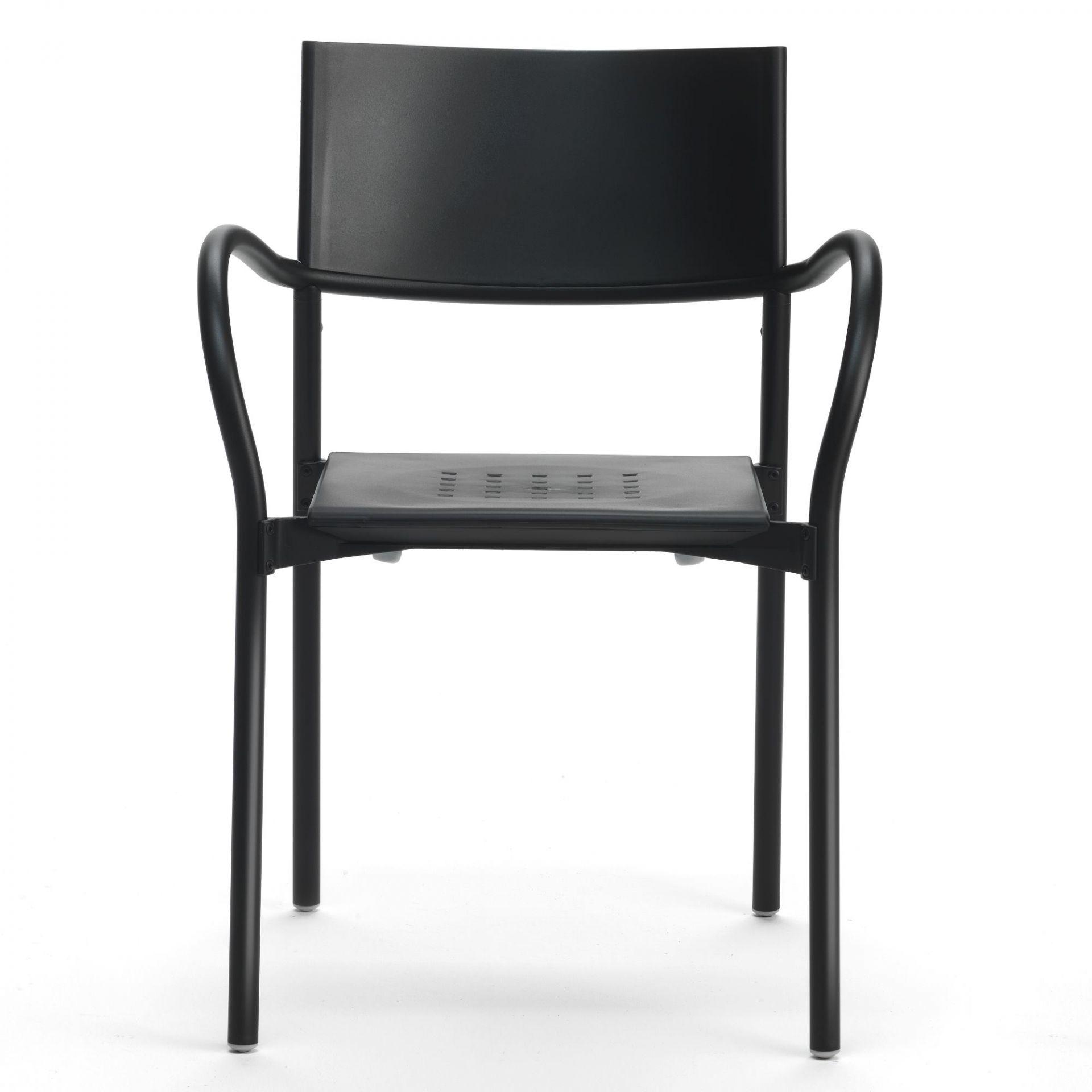 Breeze Stuhl Segis Beige Aluminium matt