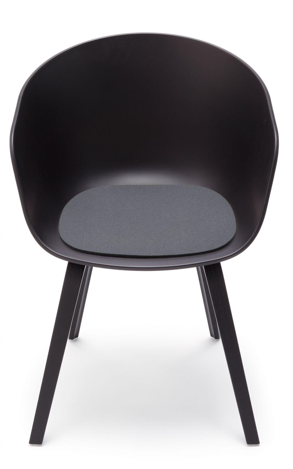 Sitzauflage - Filzauflage About A Chair AAC22 / AAC 22 Taubengrau Hey Sign