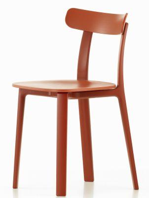 All Plastic Chair Outdoor Stuhl Vitra-Backstein