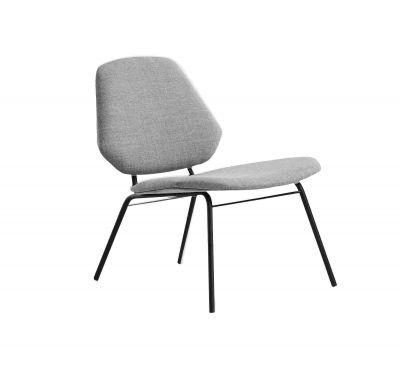 Lean lounge chair Sessel Woud-Remix 2 123 Grau