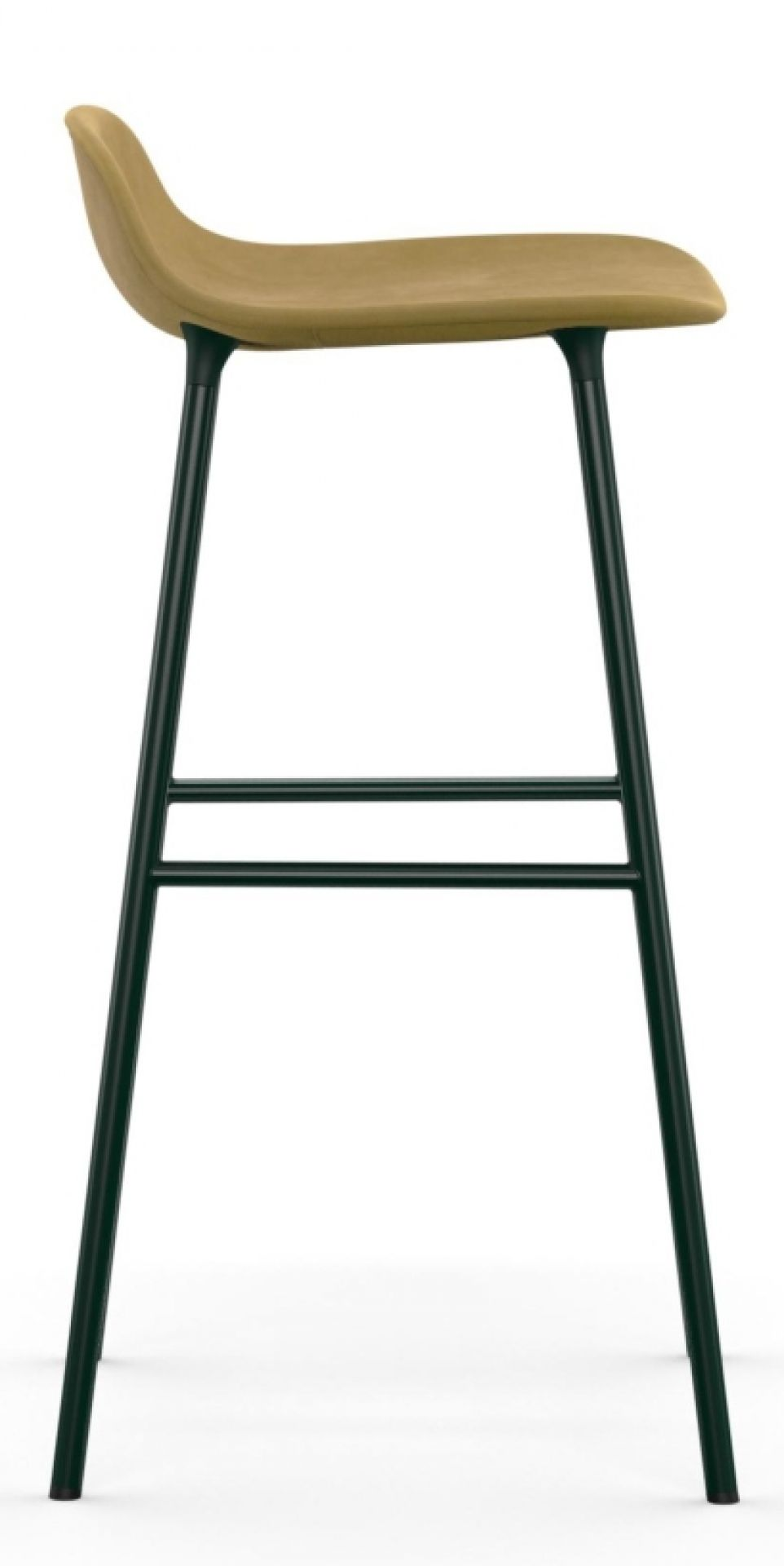 Form Barstool Barhocker H 75 cm Stahl Gepolstert Normann Copenhagen