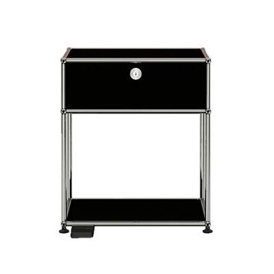 USM Haller E Nachttisch mit dimmbarem Licht - QUICK SHIP