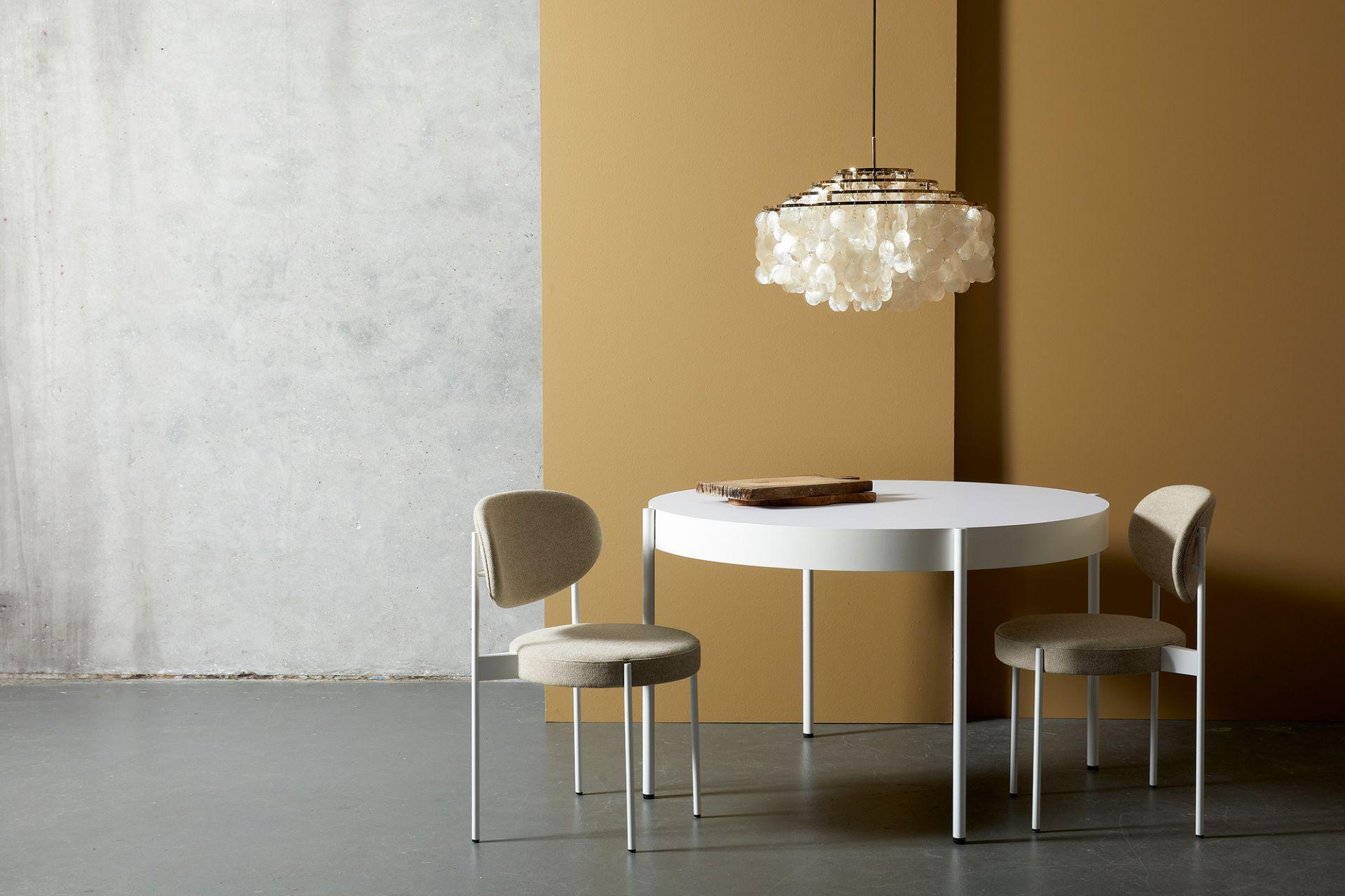Series 430 Tisch Schwarz Ø120 Verpan