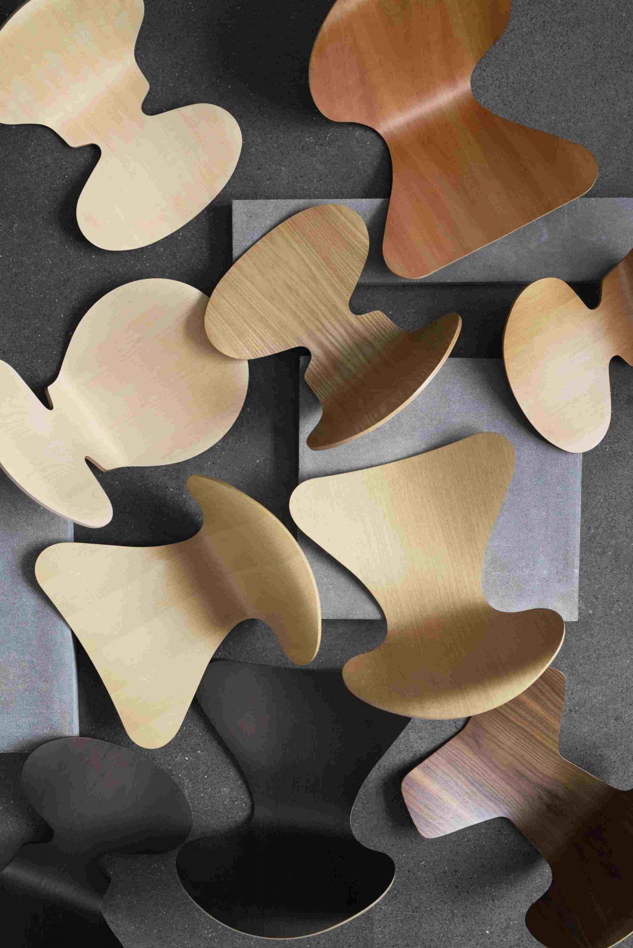 Die Ameise Stuhl 3100 3-Bein Gestell Fritz Hansen