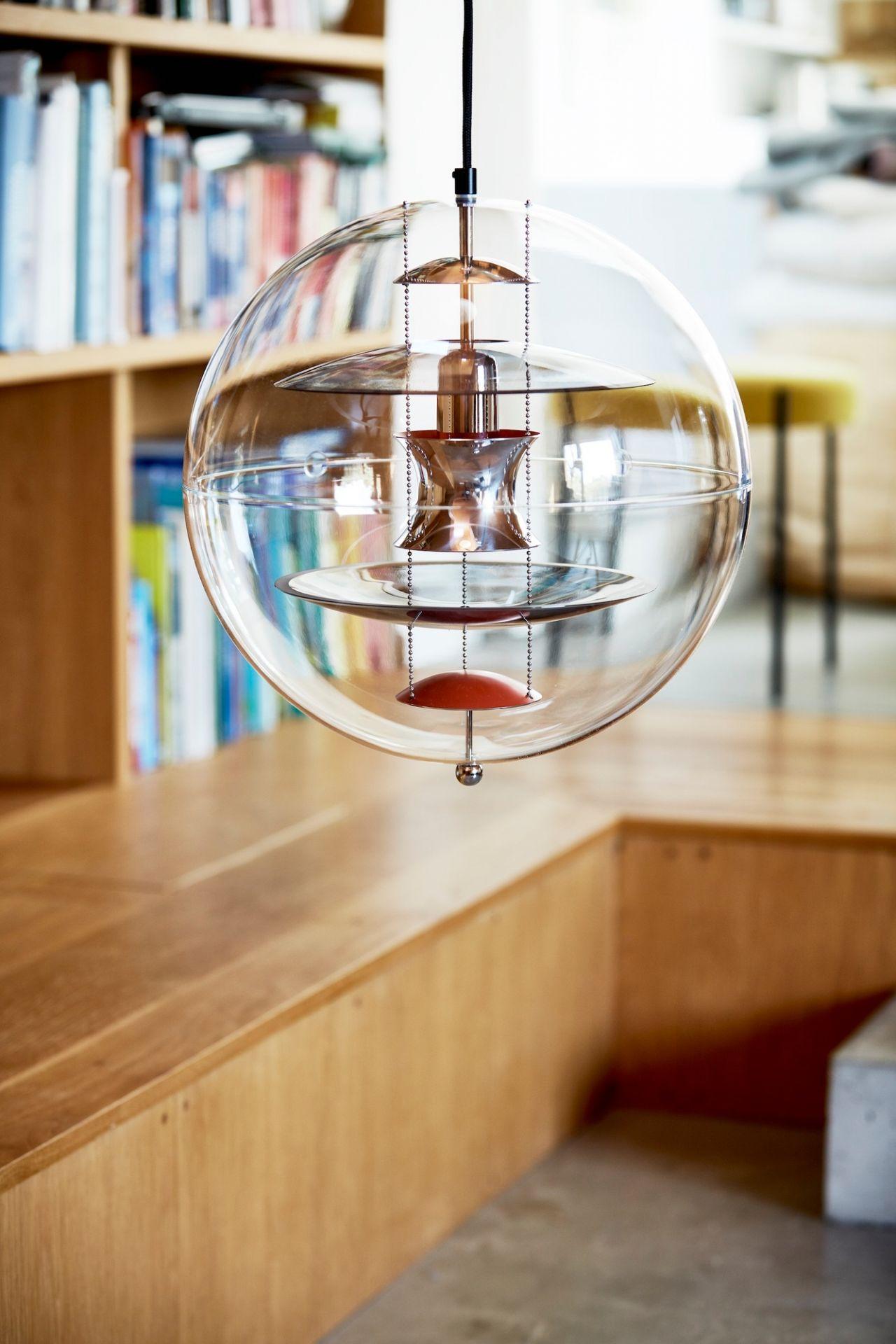 VP Globe Coloured Glass Pendelleuchte Verpan