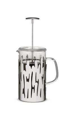 Barkoffee Pressfilter aus Edelstahl Alessi