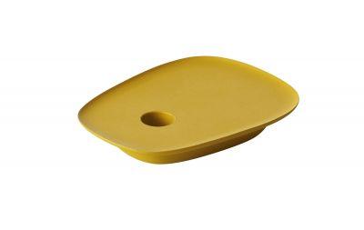 Float Candlestick Kerzenhalter Gelb Muuto