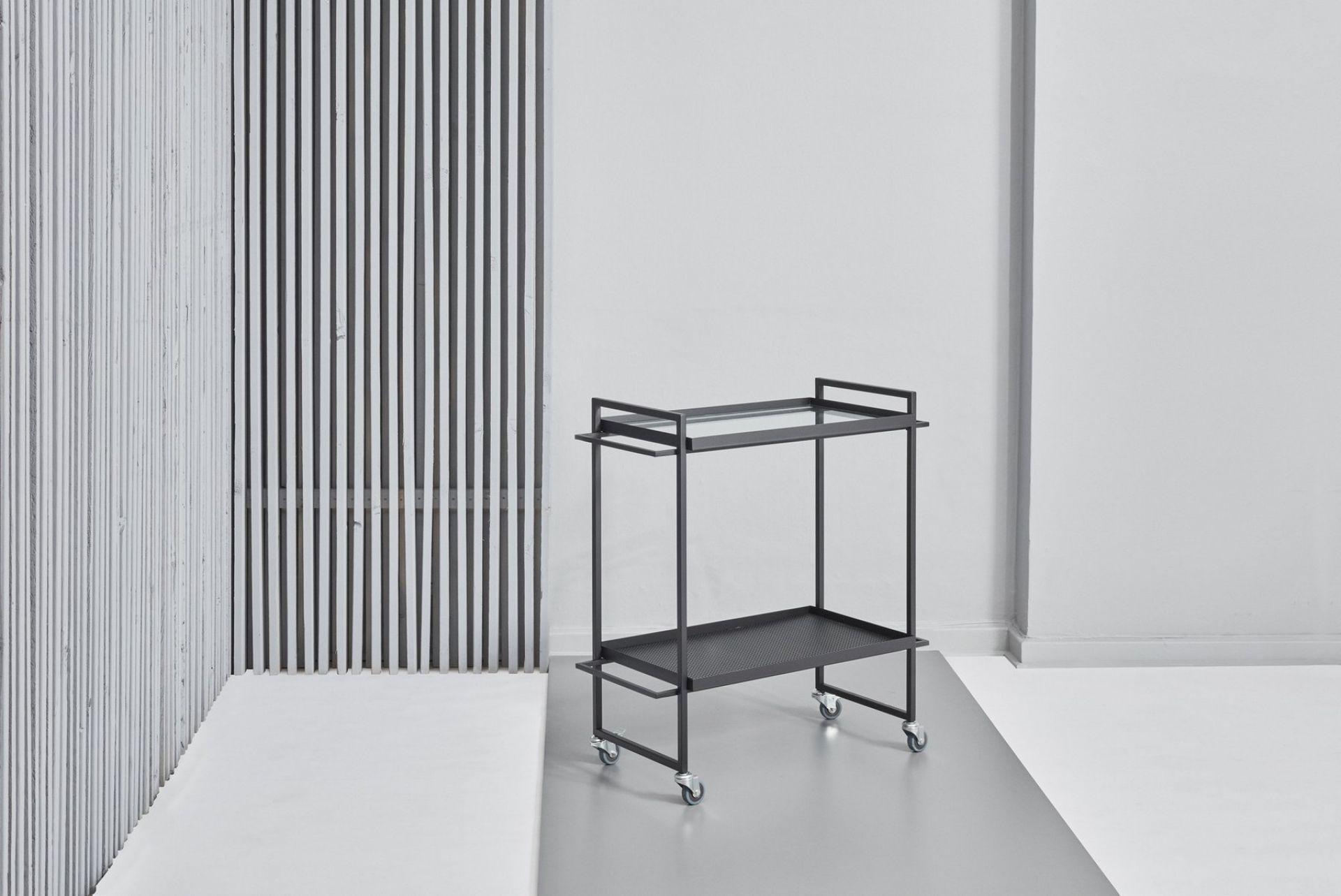 Bauhaus Trolley Servierwagen Kristina Dam Studio