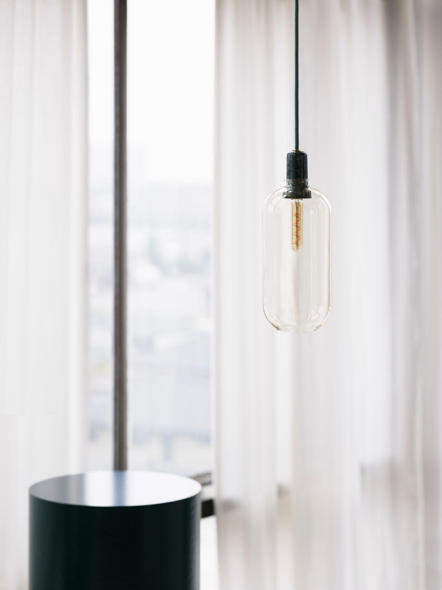 Amp Lamp Hängeleuchte Normann Copenhagen Weiß/Weiß Ø 11,2 cm