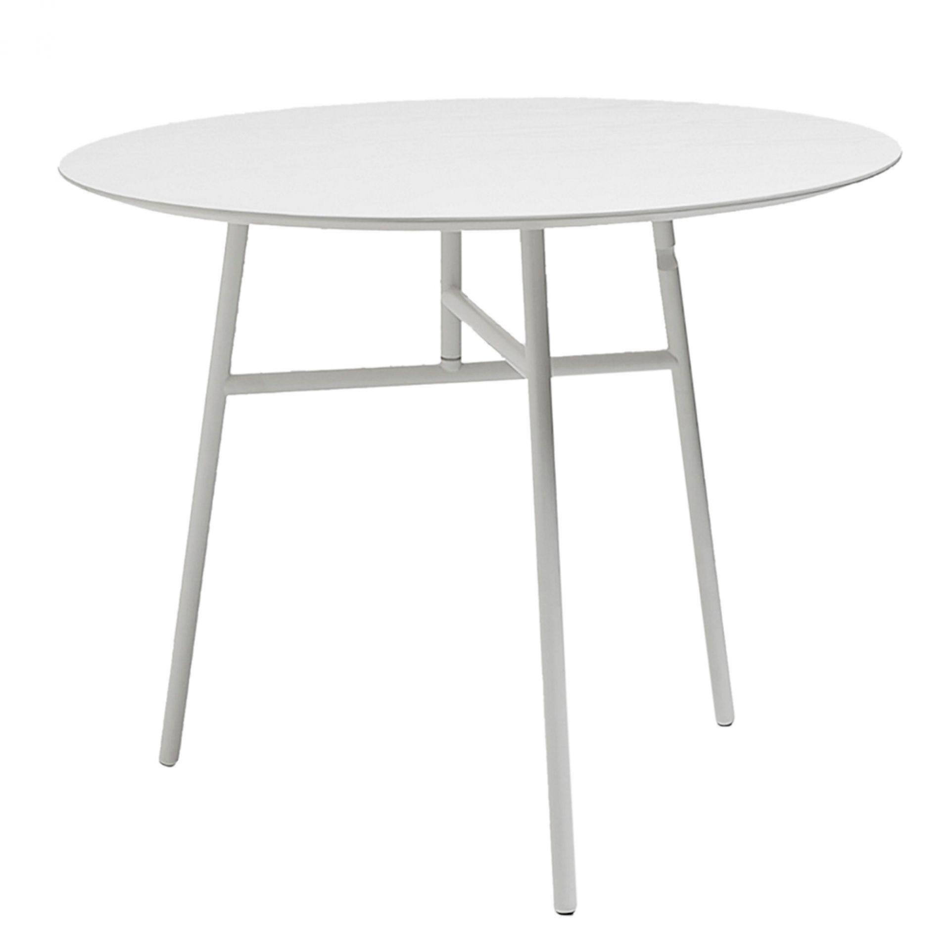 Tilt Top Tisch Hay-grün gebeizt / grün pulverbeschichtet