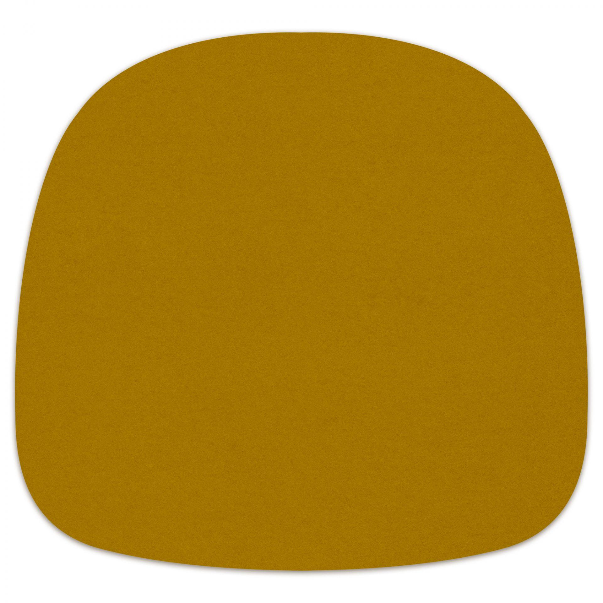Sitzauflage - Filzauflage About A Chair AAC22 / AAC 22 Senf Hey Sign