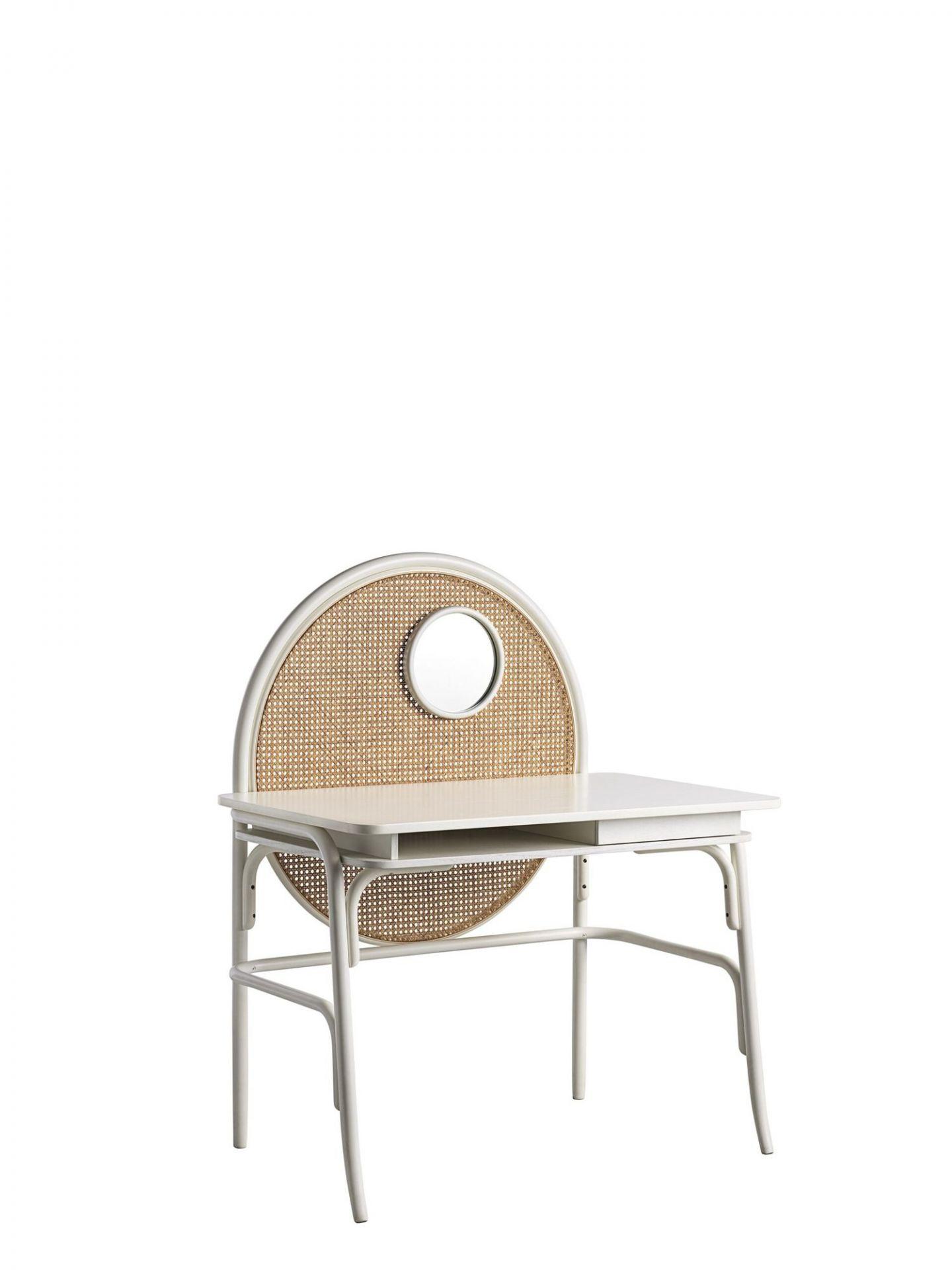 Allegory Desk Schreibtisch mit Schublade Wiener GTV Design Weiß