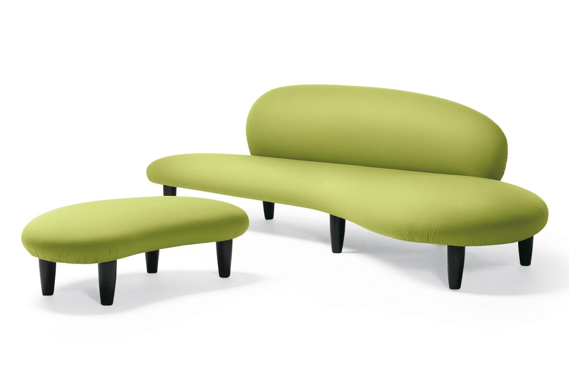 Freeform Sofa + Ottoman Vitra