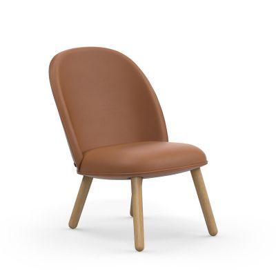 Ace Lounge Sessel Eiche Normann Copenhagen Ultra Leather
