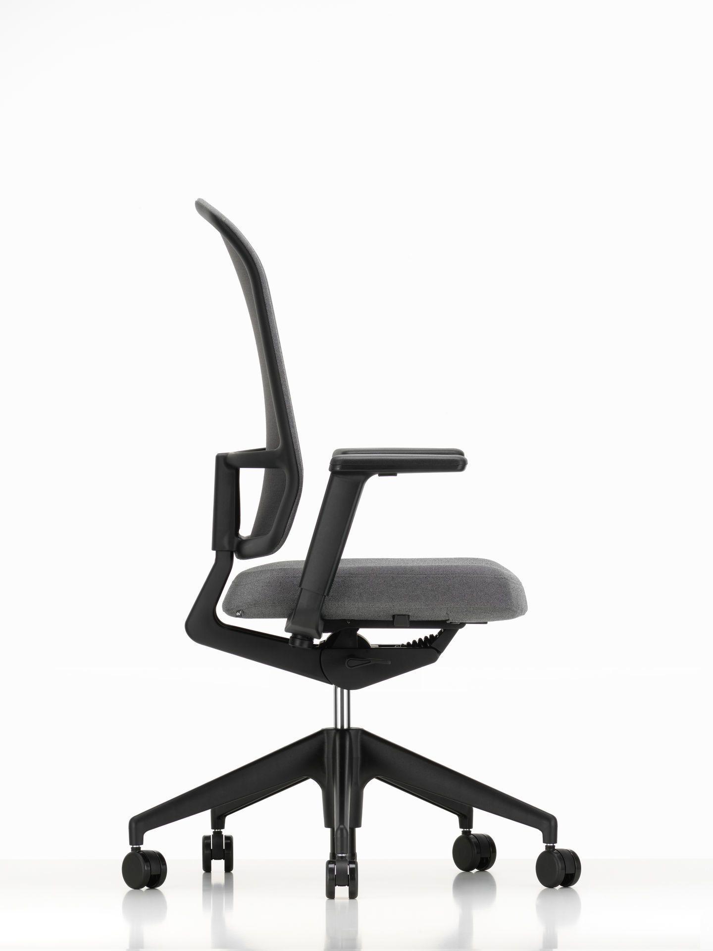 Am Chair Bürodrehstuhl mit Stoffrücken Vitra