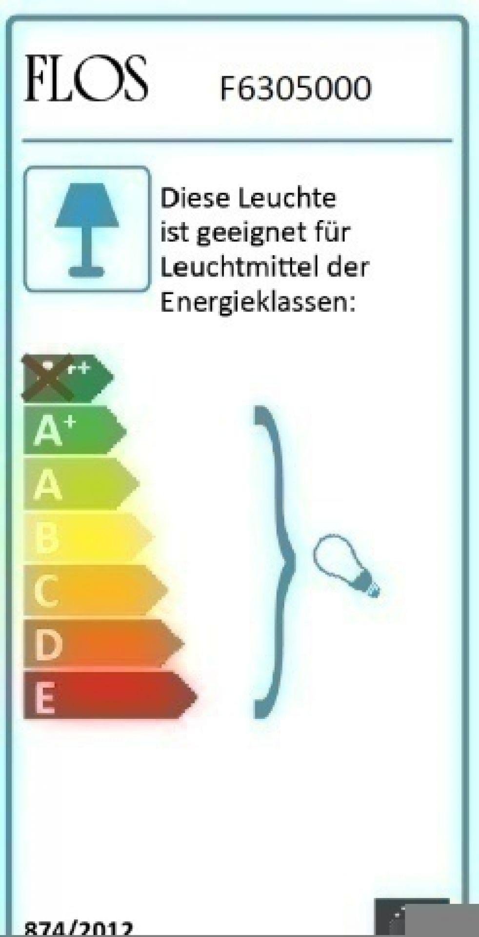 Ktribe F2 Stehleuchte Transparent Flos - EINZELSTÜCK