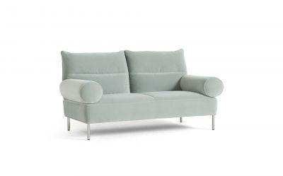Pandarine 2-Sitzer Sofa mit Zylinderarmlehnen Hay