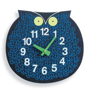 Omar the Owl Zoo Timers Wanduhr Vitra