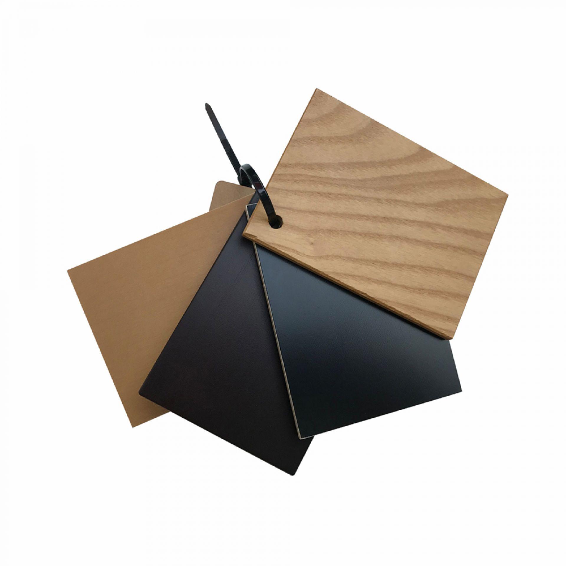 Holzmuster für Eames Plastic Chair DSW oder DAW Vitra