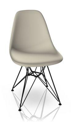Eames Plastic Side Chair DSR Stuhl Vitra Schwarz-Kieselstein