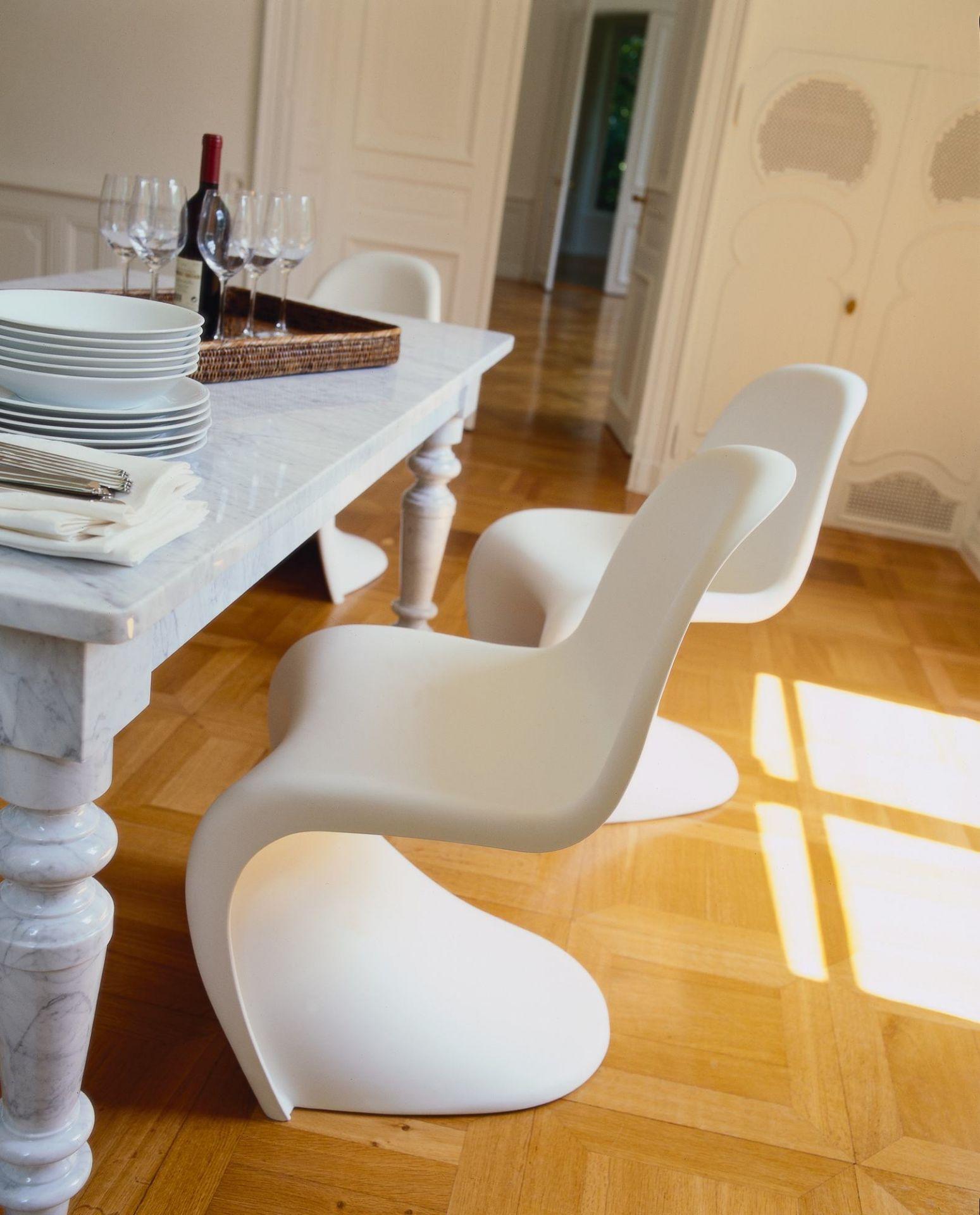 Panton Chair Stuhl Vitra - QUICK SHIP-Rot
