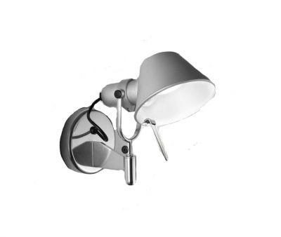 Tolomeo Micro Faretto Wandleuchte Aluminium Artemide
